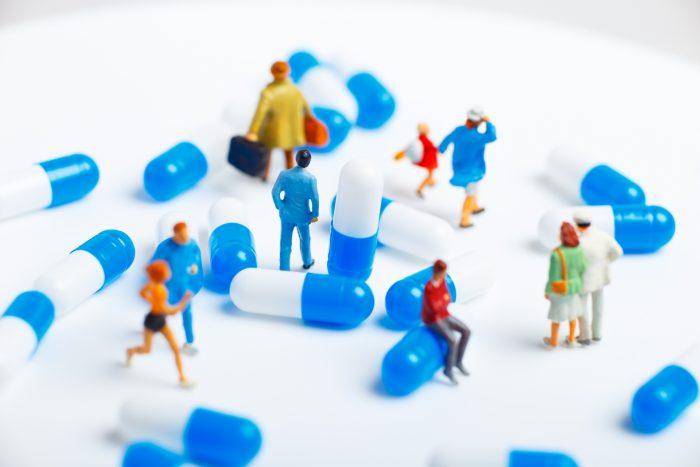 おもちゃの薬の画像