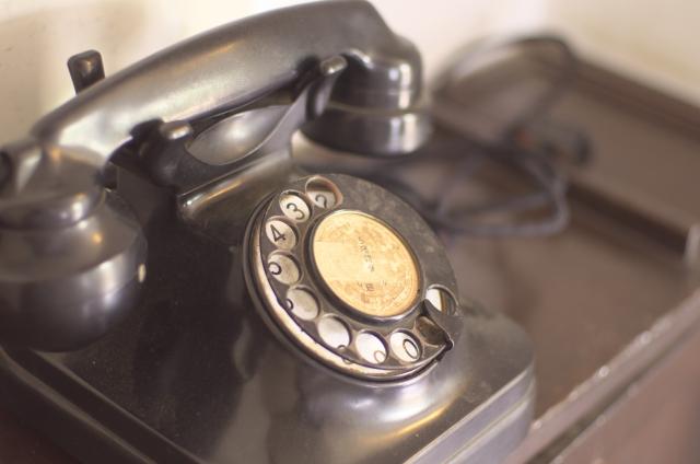 昭和の電話